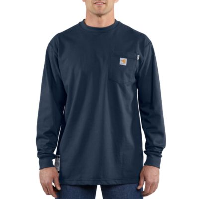 Flame-Resistant Force Cotton Long-Sleeve T-Shirt