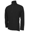 PowerGrid 1/4 Zip Dual Hazard Shirt (9.2 oz) Black #N/A