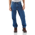 Relaxed-Fit Tapered Leg Jean