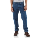 Traditional-Fit Tapered Leg Jean