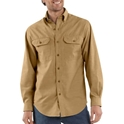 S202 Mens Fort Solid Long-Sleeve Shirt