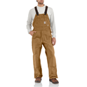 Unlined Flame-Resistant Duck Bib Overall
