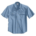 Fort Short Sleeve Chambray Shirt